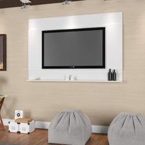 Painel Parede para TV até 55 Polegadas Dakota Sala Contemporâneo Art in Móveis Branco -