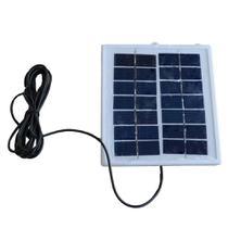 Painel Placa Solar Portátil 6v 2w Carregador Fotovoltaica - Oksn
