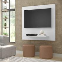 Painel Sala Flet Plus  Para TV 32 Polegadas Branco - Lojas GD -