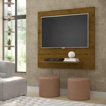Painel Sala Flet Plus  Para TV 32 Polegadas Malbec - Lojas GD -