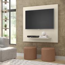 Painel Sala Flet Plus  Para TV 32 Polegadas Off White - Lojas GD -