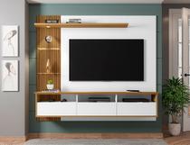 Painel Sala para TV até 60 Polegadas Trend c/ LED 3 Portas - Móveis Bechara