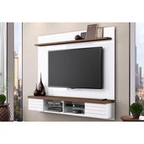 Painel Suspenso para TV até 70 Polegadas Esplendor Branco/Malte - Belaflex -