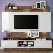 Painel TB113L Para Tv  Sem Led 100 Mdf - Nobre/off White - Dalla costa