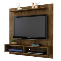 painel tv suspenso para sala ou quarto até 47 pol rústico - Bechara