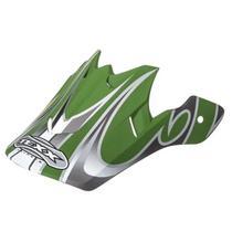 Pala para Capacete Texx Modelo Air 07 Verde Prata -