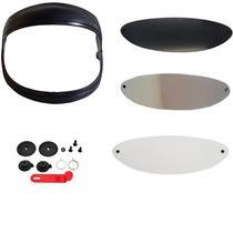 Pala suporte reparo kit viseira cristal/fumê/espelhada San marino - Motovisor