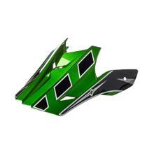 Pala texx mod speed mud preto com verde metalico -
