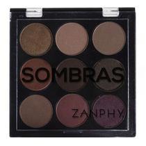 Paleta De Sombra 09 Cores 02 Zanphy -