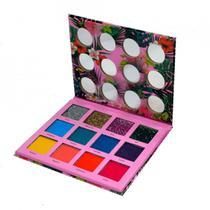 Paleta de Sombra 12 Cores Jasmyne Bouquet A -