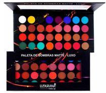 Paleta De Sombra Matte Luxo 32 Cores / Ludurana -