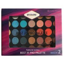 Paleta de sombra Sp Colors Best 35 Pro Palette Versão 2 -