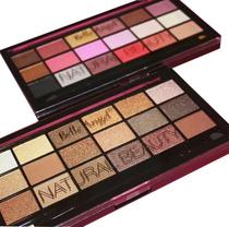 Paleta De Sombras 18 Cores B049 / B050 Natural Beauty Belle Angel