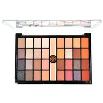 Paleta de sombras 32 sombras 2 primer catchy eyes ruby rose