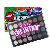 Paleta De Sombras Matte De Amor Jasmyne V1027 -