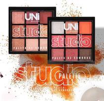 Paleta De Sombras Studio Palette Uni Makeup -