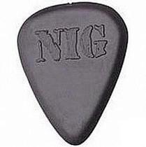 Palheta Para Guitarra E Violão 2.0mm Nig -