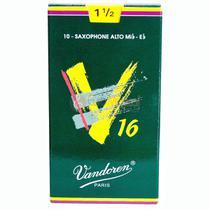 Palheta Sax Alto Vandoren 1,5 V16 - Unitario -