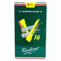 Palheta Sax Alto Vandoren 2,5 V16 - Unitario -