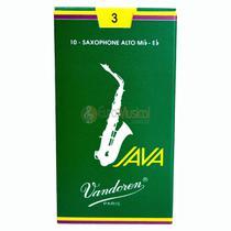 Palheta Sax Alto Vandoren 3 JAVA - Unitario -