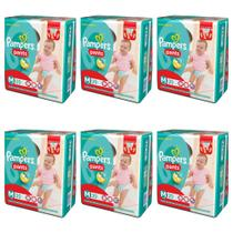 Pampers Pants Fralda Infantil M C/20 (Kit C/06)