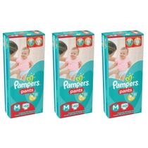 Pampers Pants Fralda Infantil M C/40 (Kit C/03)