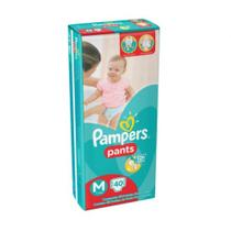 Pampers Pants Fralda Infantil M C/40