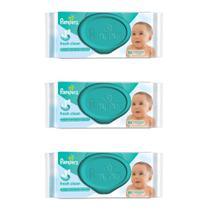 Pampers Regular Lenços Umedecidos Infantil C/48 (Kit C/03) -