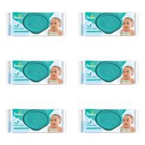 Pampers Regular Lenços Umedecidos Infantil C/48 (Kit C/06) -