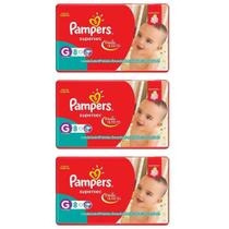 Pampers Supersec Fralda Infantil G C/8 (Kit C/03)