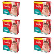 Pampers Supersec Fralda Infantil M C/30 (Kit C/06)