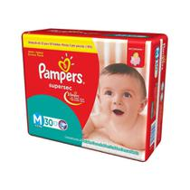 Pampers Supersec Fralda Infantil M C/30