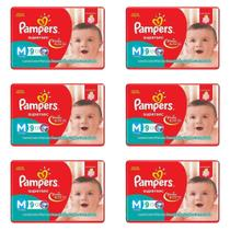 Pampers Supersec Fralda Infantil M C/9 (Kit C/06)