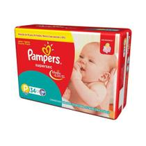 Pampers Supersec Fralda Infantil P C/34