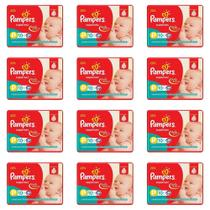 Pampers Supersec Fralda Infantil PP C/10 (Kit C/12)