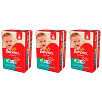 Pampers Supersec Fralda Infantil XG C/8 (Kit C/03)