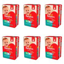Pampers Supersec Fralda Infantil XG C/8 (Kit C/06)