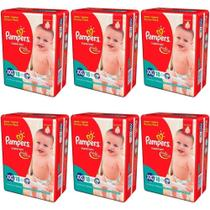 Pampers Supersec Fralda Infantil XXG C/18 (Kit C/06)
