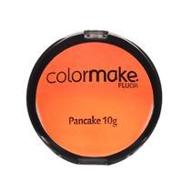 Pancake Facial Artistico ColorMake Laranja Fluor 10g - Yur
