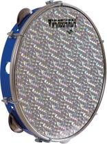 Pandeiro 10' Pele Holográfica Prata Abs Cores Vanguarda - Vanguarda By Spanking