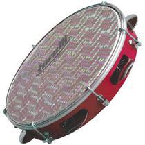 Pandeiro 8 pol madeira / fórmica Torelli TP 307 pele holográfica -