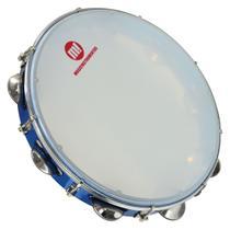 Pandeiro Acrílico PHX 12 Polegadas Pele Leitosa 83a Bl Azul -