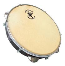 "Pandeiro cajon percussion star inox walnut tx 10"" psi-1067a -"