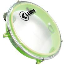 Pandeiro Infantil 8 pol Verde Luen Percussão Instrumento Musical Junior 40084 VD -