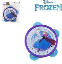 Pandeiro Infantil Frozen 13cm de Ø Plástico Etitoys -