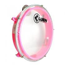 Pandeiro Infantil rosa 8 Polegadas LUEN - Reforçado -
