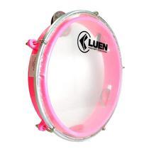 Pandeiro Infantil rosa 8 Polegadas LUEN -