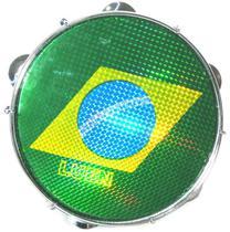 Pandeiro Luen 10 ABS Amarelo Brasil 40066AM/BDS -