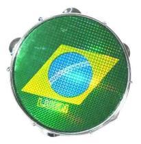 Pandeiro Luen 10 Brasil ARO ABS Azul Brasil 40066AZ/BDS -