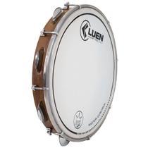 "Pandeiro Luen 12"" Imbuia Guetto Cromadas Pele Master Control - Luen Percussion"